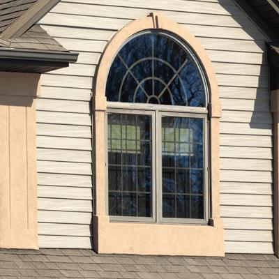 Image of a glass paneled window