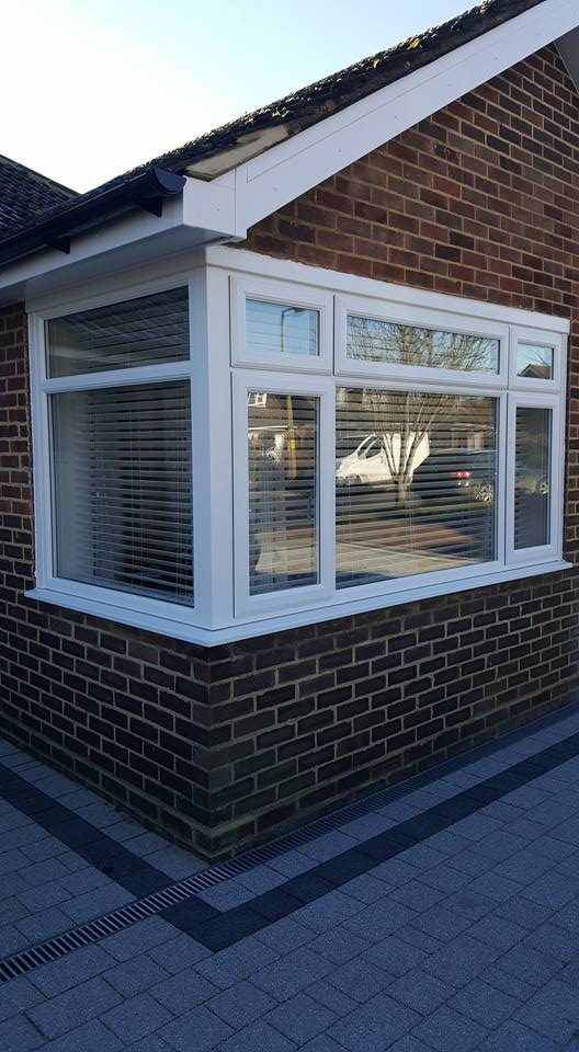 An image of a newly fitted window.