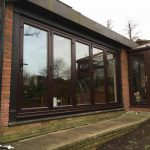 An image of a large bifold door