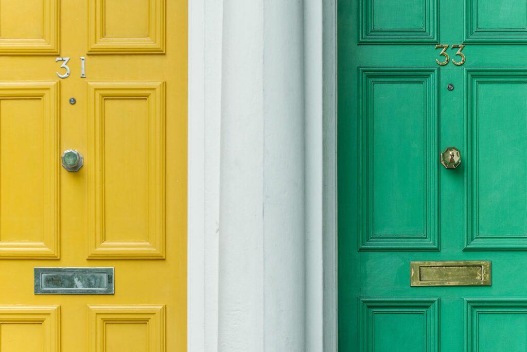 Image of new doors